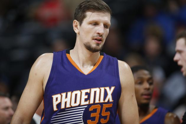 Mirza Teletovic Injury: Updates on Suns Forward's Ankle and Return