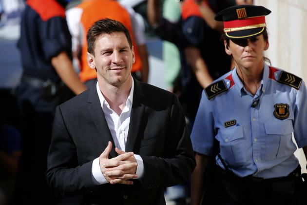 Lionel Messi Tax Fraud Trial Date Set for After 2016 Champions League Final