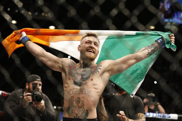 Conor McGregor Slams Rafael dos Anjos, Reveals Welterweight Plans in UFC Presser