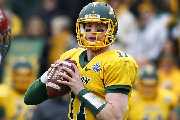 Don't Buy the Hype on Rising Small-School QB Carson Wentz