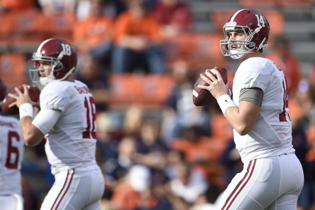 Why Alabama Fans Shouldn't Worry About Offseason Quarterback Battle