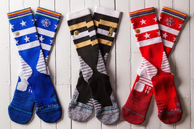 Stance Reveals Official On-Court Socks for the 2016 All-Star Game