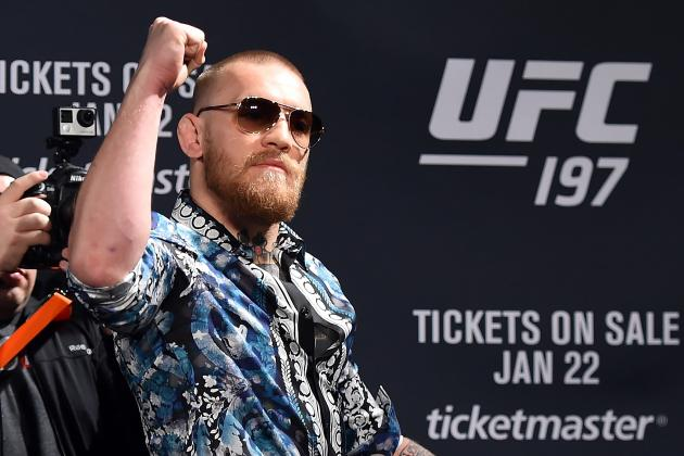 Conor McGregor, Dana White and UFC 197's Biggest Question: 'Where's My Belt?'