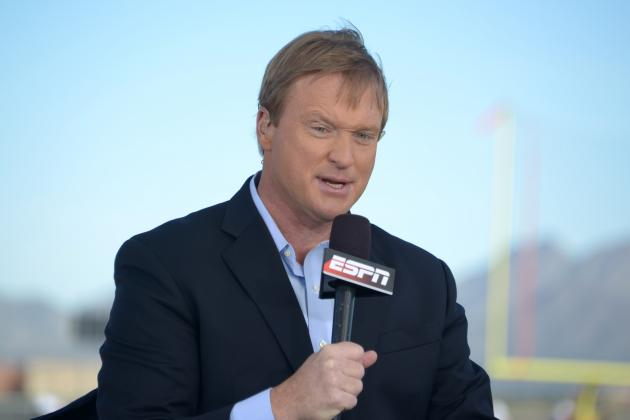 Jon Gruden Comments on NFL's Usage of Instant Replay
