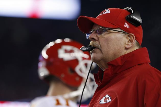 Andy Reid Comments on Chiefs' Clock Management in Loss to Patriots