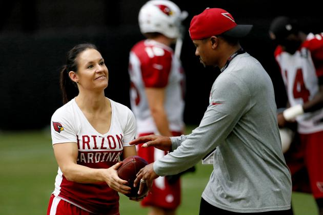 Jen Welter Comments on Coaching in NFL After Bills Hire Kathryn Smith