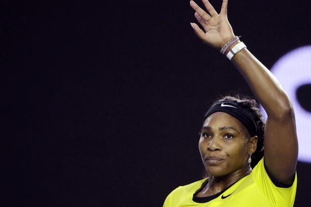Serena Williams vs. Darya Kasatkina: Score, Reaction from 2016 Australian Open