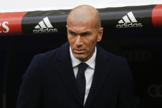 Zinedine Zidane Reportedly 'Doesn't Have Faith' in Real Madrid's Summer Signings