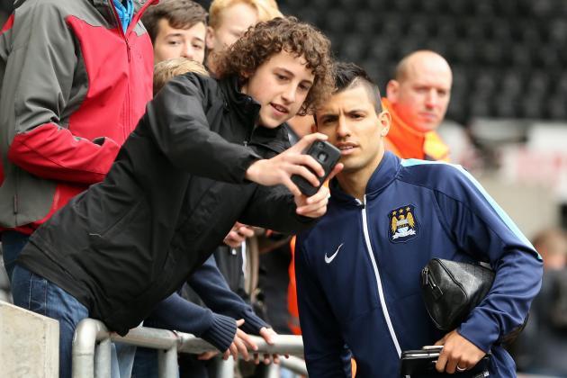 Arsenal, Manchester City's Fernandinho Lead Premier League Selfie Tables
