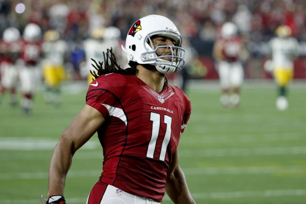 Larry Fitzgerald Fined for Illegal Crack-Back Block vs. Packers