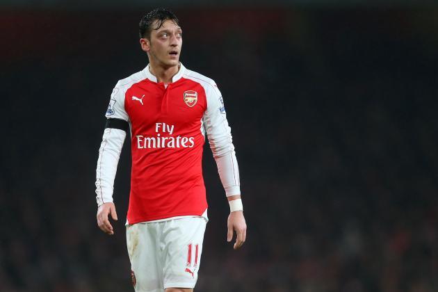 Mesut Ozil Injury: Updates on Arsenal Midfielder's Ankle and Return