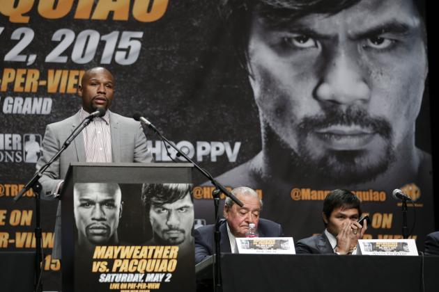 Bob Arum Discusses 2003 Incident with Floyd Mayweather and James Prince