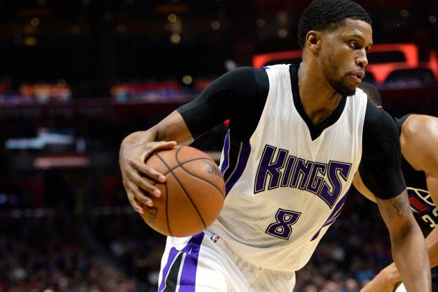 Rudy Gay Injury: Updates on Kings Forward's Heel and Return
