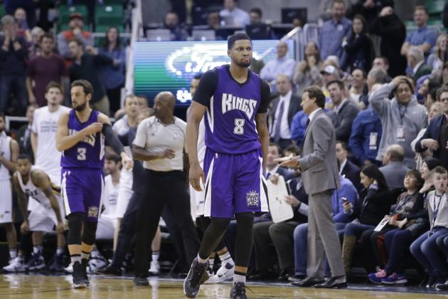 Rudy Gay Injury: Updates on Kings Star's Eye and Return