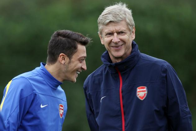 Arsene Wenger Comments on Mesut Ozil's Character, Compares to Dennis Bergkamp