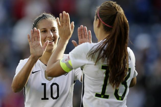 USA vs. Ireland Women's Soccer: Score and Twitter Reaction for 2016 Friendly