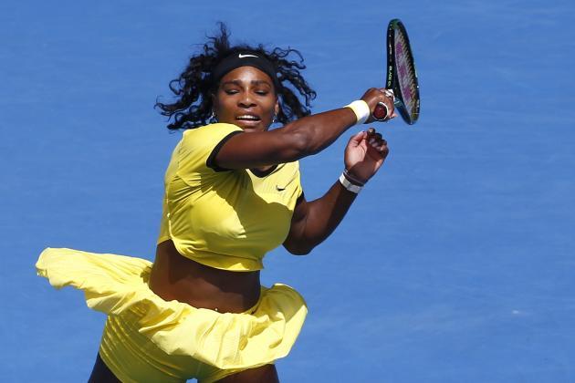 Serena Williams vs. Margarita Gasparyan: 2016 Australian Open Score and Reaction