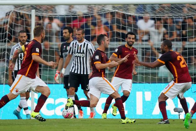 Juventus vs. AS Roma: Live Score, Highlights from Serie a