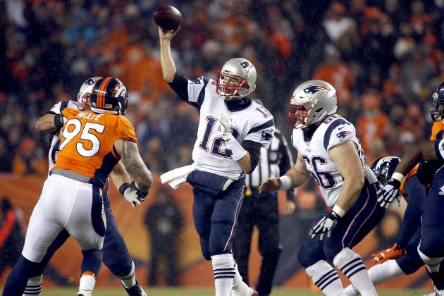AFC Championship Game 2016: Live Stream, Odds Guide for Patriots vs. Broncos