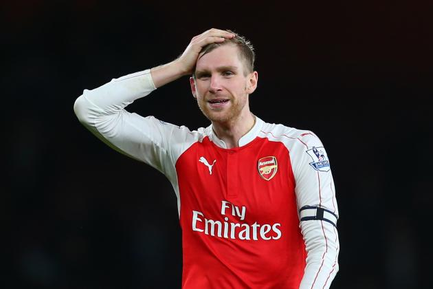 Per Mertesacker Receives Red Card vs. Chelsea: Latest Details and Reaction