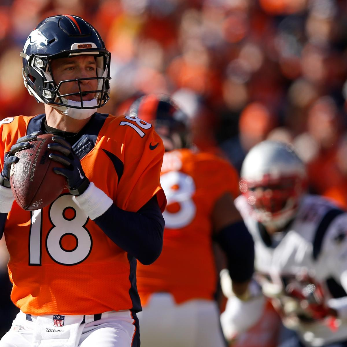 New England Patriots Vs. Denver Broncos: Live Score