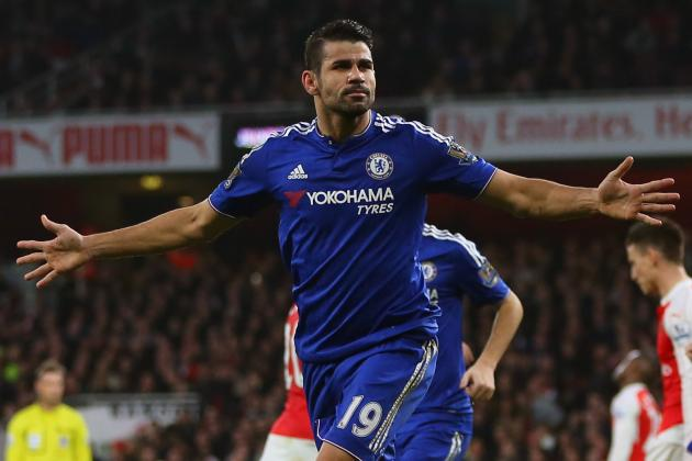 Chelsea's Diego Costa Is the Villain Every Club Would Love to Have