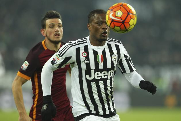 Patrice Evra Excellent but Juan Cuadrado Disappoints as Juventus Defeat as Roma
