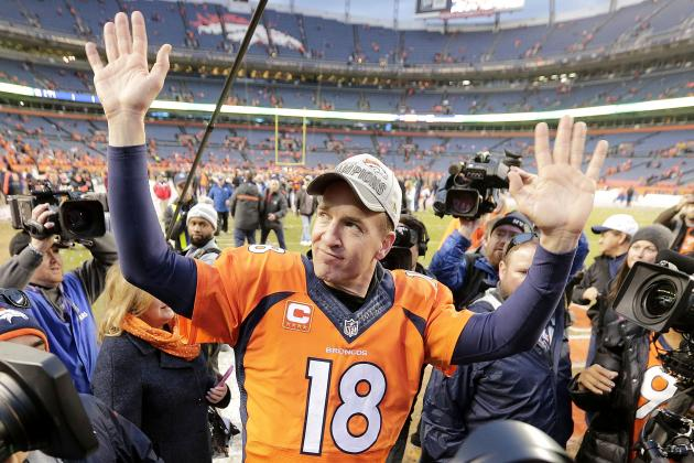 Peyton Manning Uses His Arm—and Legs—to Beat Patriots in AFC Championship