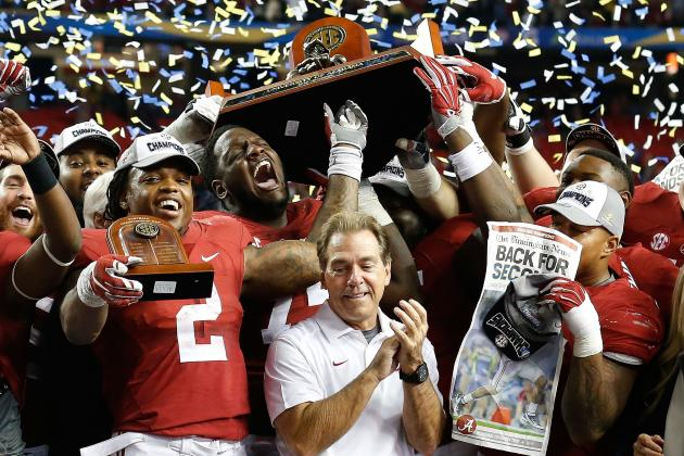 Odds Alabama Wins SEC Again, Makes 3rd Straight College Football Playoff