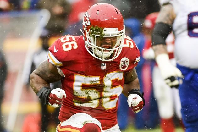Derrick Johnson Re-Signs with Chiefs: Contract Details, Comments and Reaction