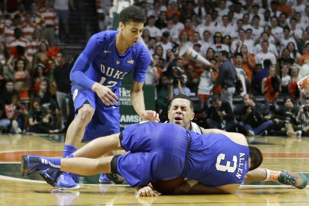 Is It Time for Duke to Panic After Latest ACC Loss to Miami?