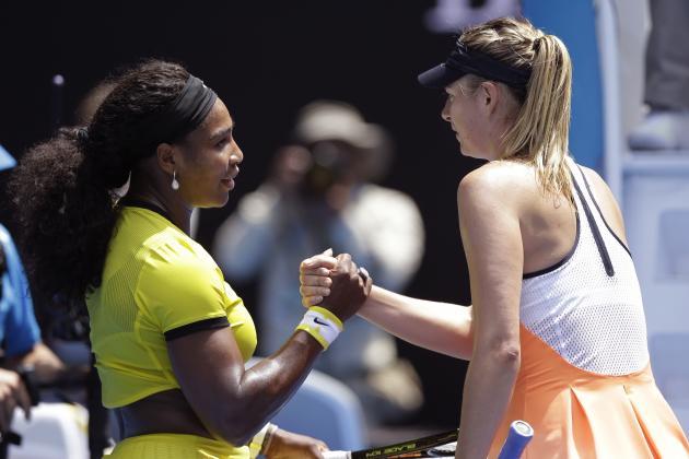Serena Williams vs. Maria Sharapova: Score, Reaction from 2016 Australian Open