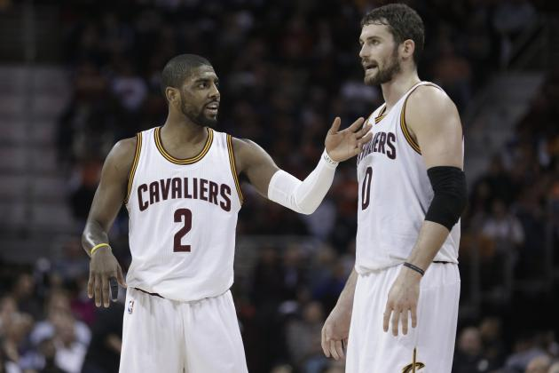 Tyronn Lue Comments on Kyrie Irving, Kevin Love's Focus on Their 'Brand'