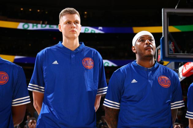 Kristaps Porzingis' Childhood Days with Cornrows Won Over Carmelo Anthony