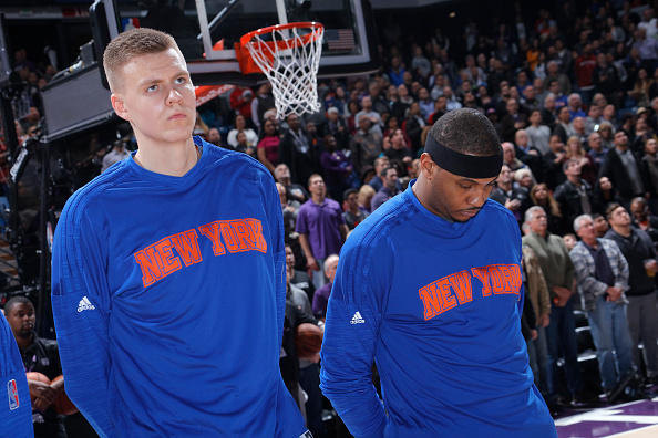 Kristaps Porzingis Already Challenging Carmelo Anthony As Knicks' Best Player