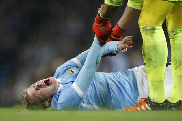 Kevin De Bruyne Injury: Updates on Manchester City Midfielder's Knee and Return