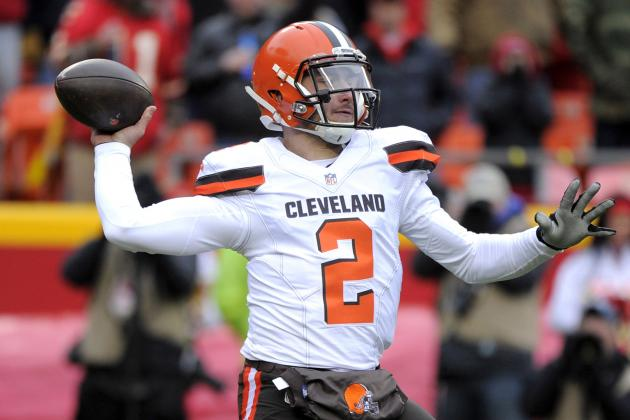 Browns VP Sashi Brown Discusses Johnny Manziel's Future with Team, Latest Video