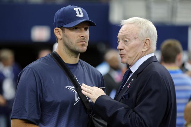 Jerry Jones Comments on Tony Romo, Jason Garrett and More