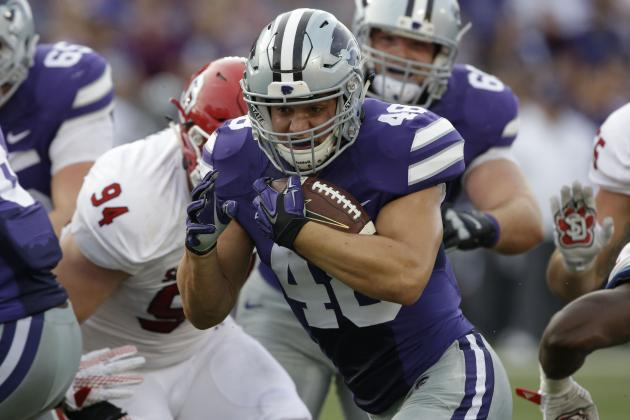 KSU FB Glenn Gronkowski to Meet with Patriots During Senior Bowl