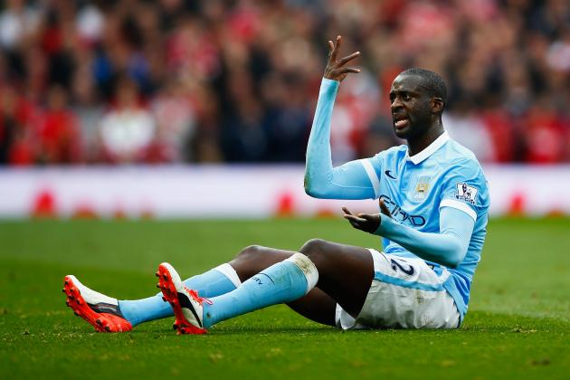 Ageing Process Is Catching Up on Yaya Toure; He Needs to Accept It and Adapt
