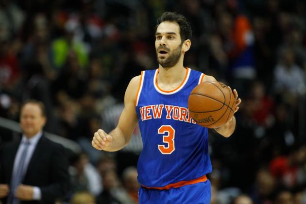 Jose Calderon Injury: Updates on Knicks Star's Calf and Return