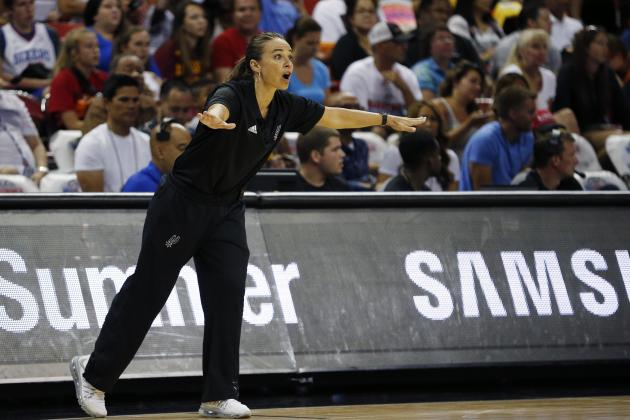 Becky Hammon Becomes 1st Female Named to NBA All-Star Coaching Staff