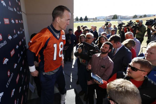 Peyton Manning Discusses HGH Investigation, Reports on Future