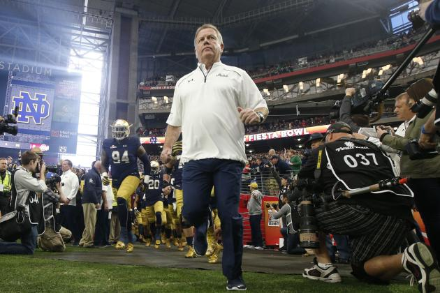 Brian Kelly's Contract Extension a Major Win for Notre Dame