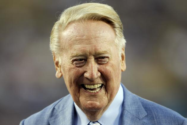 Vin Scully to Have Street Leading to Dodger Stadium Named for Him