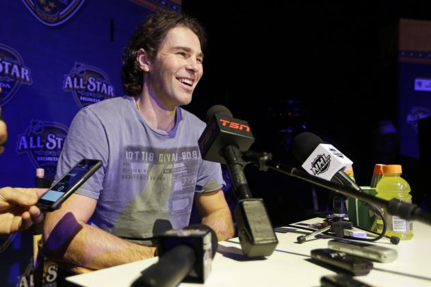 The Great Jaromir Jagr and Other Sights, Sounds from NHL All-Star Game Media Day