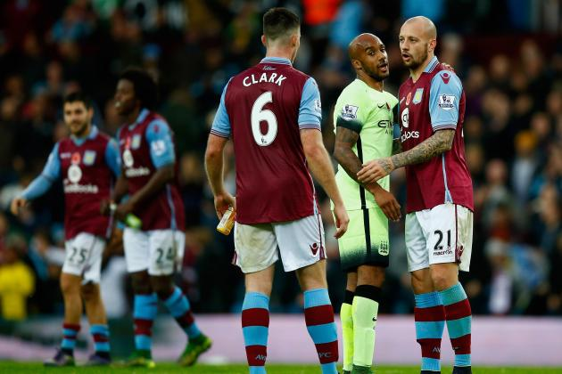 Aston Villa vs. Man City: Team News, Predicted Lineups, Live Stream, TV Info