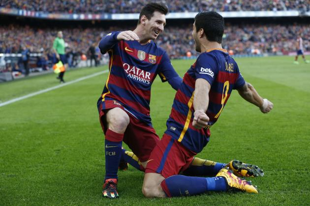 Barcelona vs. Atletico Madrid: Score, Reaction from 2016 La Liga Match