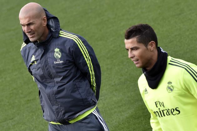 Zinedine Zidane Comments on Cristiano Ronaldo's Work Rate