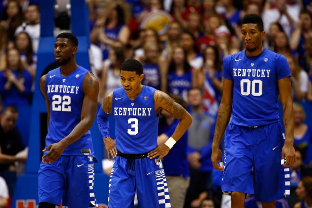 Kentucky Its Own Toughest Critic After Gritty OT Loss at Hostile Kansas